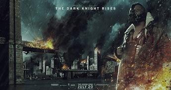 Gotham in flames