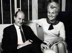 Thunderbirds creators Gerry and Sylvia Anderson