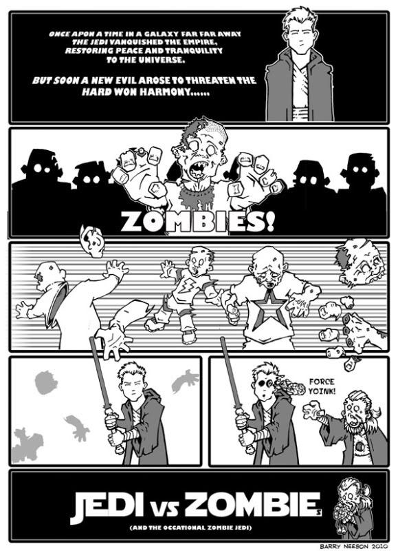 Jedi vs Zombies