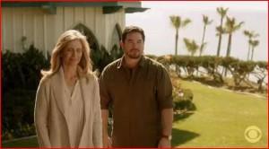 Dean Cain and Helen slater