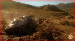 crashed pod