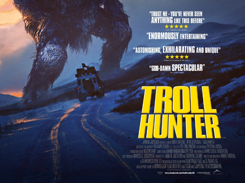 a review of troll hunter a movie by andre ovredal